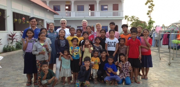 The orphanage that was made by contributions