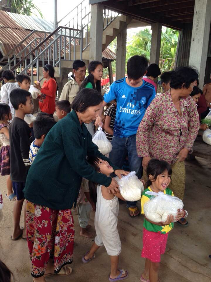 Kandal rice distribution