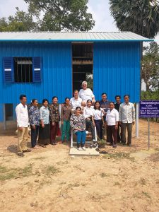 Second family in Kandal province receives a home from KARC