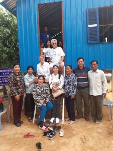 First family in Kandal province receives a home from KARC