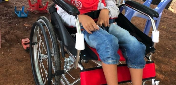 A Wheelchair to Kampot
